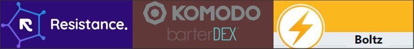 Komodo, Resistance, Boltz: les DEX 2.0 sont parmi nous.